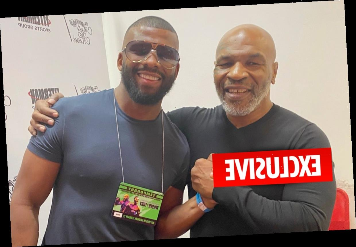 Badou Jack hopes his friends Mike Tyson and Roy Jones Jr don't 'get hurt' but warns 'somebody can still get knocked out'