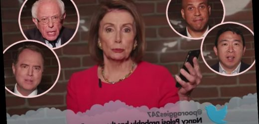 Bernie Sanders, Ted Cruz, Nancy Pelosi, & More Politicians Read Epically Mean Tweets On Jimmy Kimmel Live! Watch!