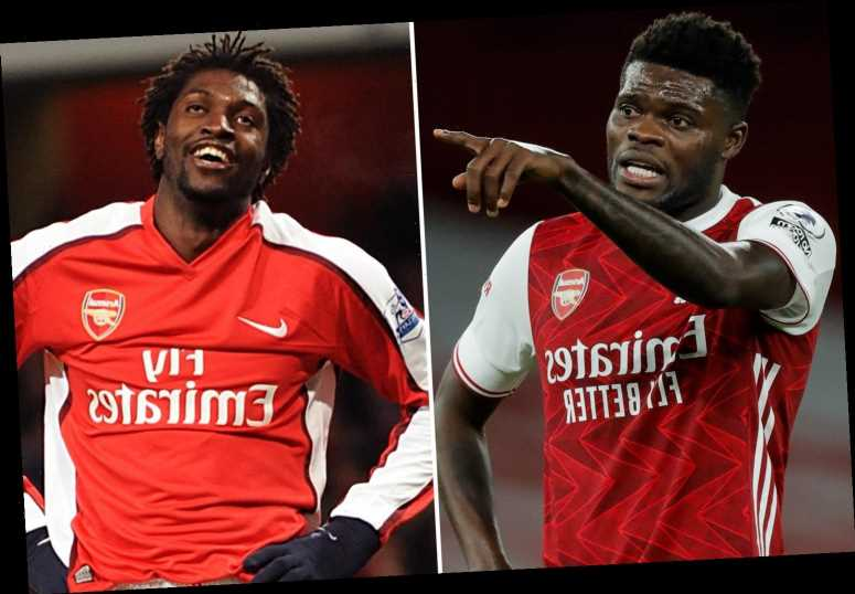 Adebayor reveals he persuaded Thomas Partey to make Arsenal transfer ahead of Man Utd and Chelsea