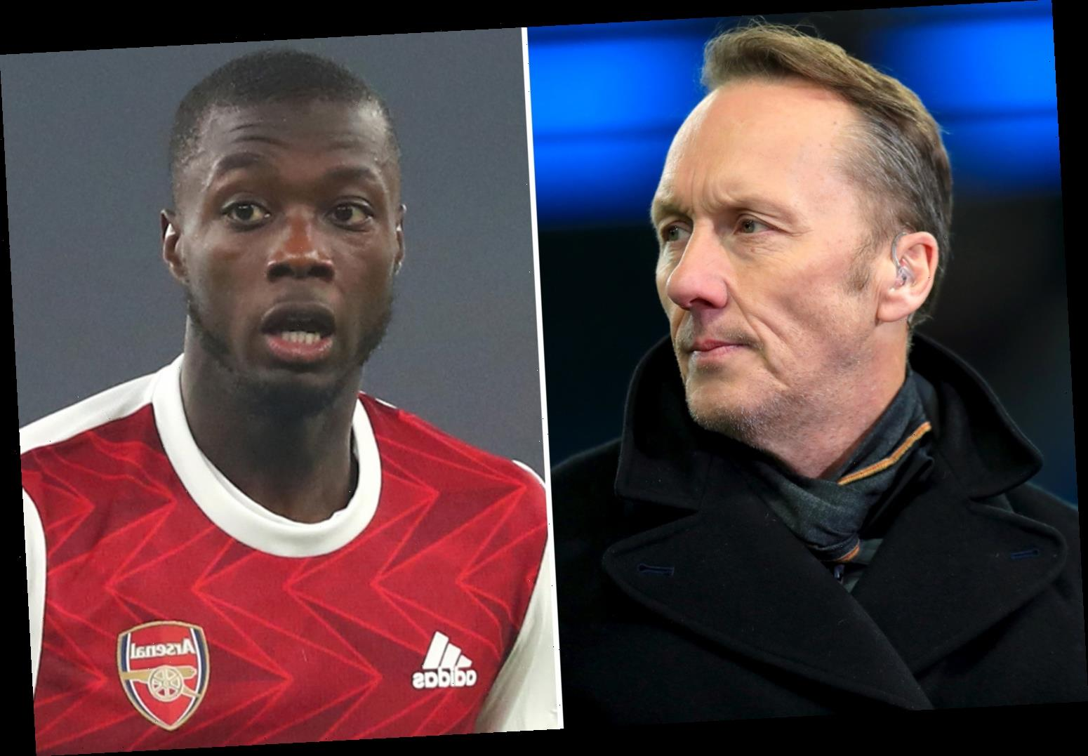 Arsenal record signing Nicolas Pepe told 'play better then' by Lee Dixon after voicing concerns over playing time