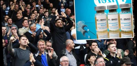 Premier League hope to introduce Covid 'passport' to get fans back before end of season after vaccine breakthrough