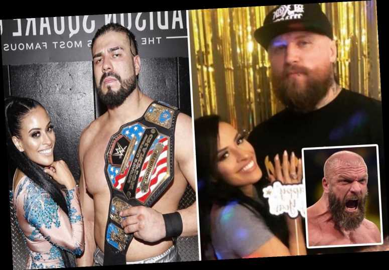 WWE star Zelina Vega reveals shocking Triple H with Aleister Black bombshell as he thought she was dating Andrade