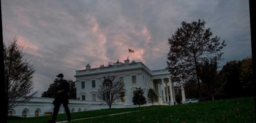 White House constructing fence to protect from election protests