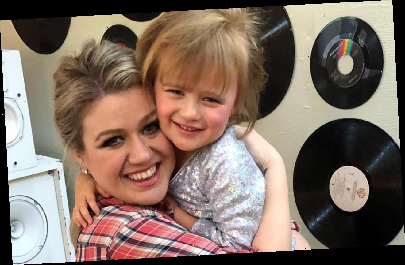 Kelly Clarkson Reveals Little Daughter's Funny Trick to Ditch Online Classes