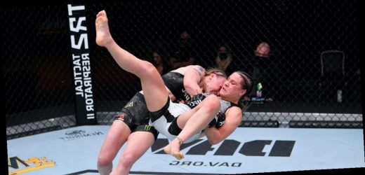 Valentina Shevchenko defended her UFC flyweight title with ease and then hailed 'woman power' in her victory speech