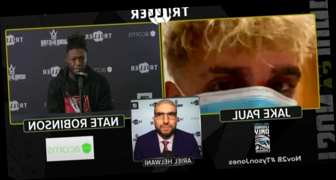 Jake Paul was hellbent on causing chaos at media events for the Mike Tyson and Roy Jones exhibition, his opponent Nate Robinson says