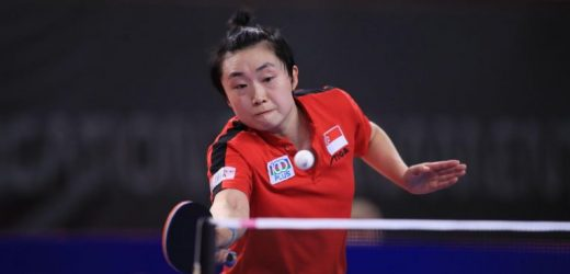 Table tennis: Feng Tianwei suffers second first-round defeat in two weeks