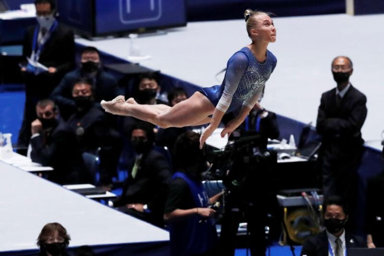 Gymnastics: Gymnasts in Tokyo show how Olympics can pass virus challenges