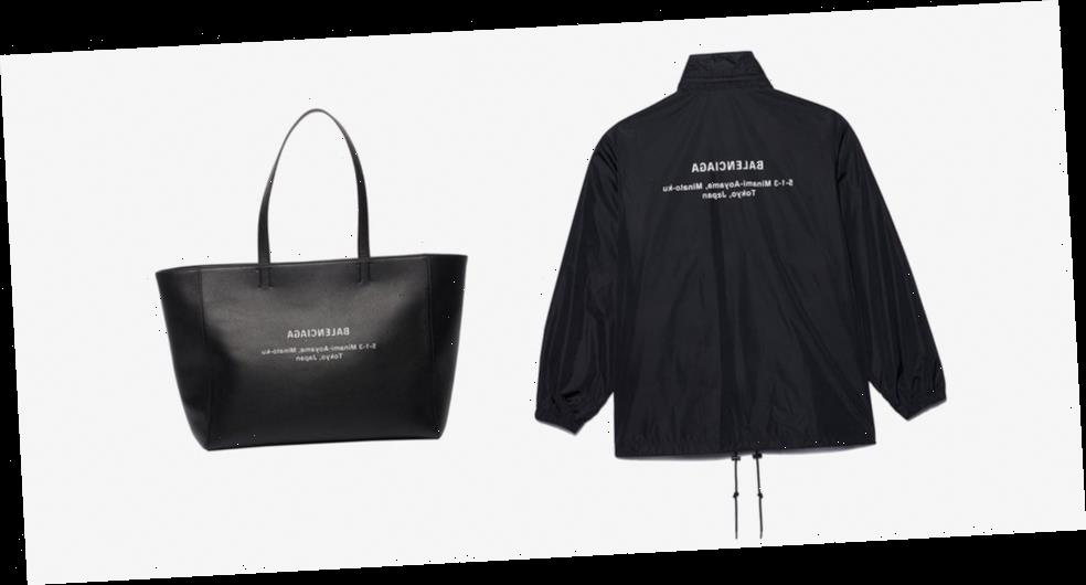 Balenciaga's Aoyama Store Reopens With Tokyo-Exclusive Wearables