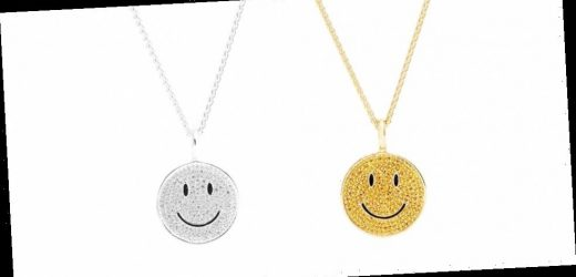 Hatton Labs and Chinatown Market Team up for Gleaming Smiley Face Jewelry