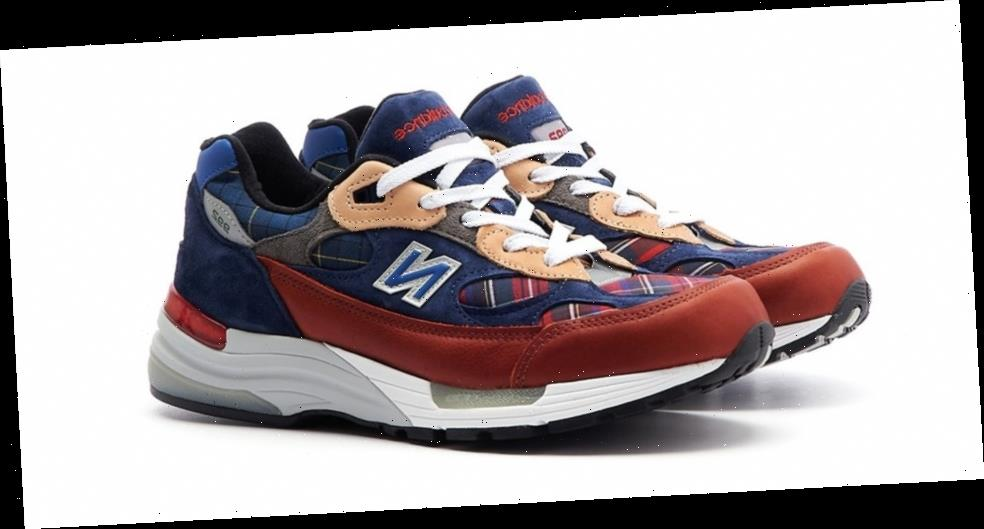 New Balance Delivers Its Made in USA 992 With Plaid Patchwork