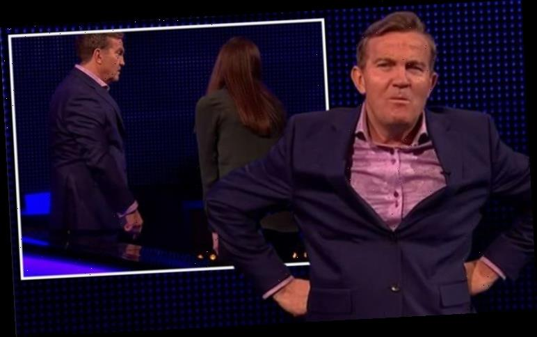 The Chase: Bradley Walsh tells off player for show set mishap 'Breaking my table!'