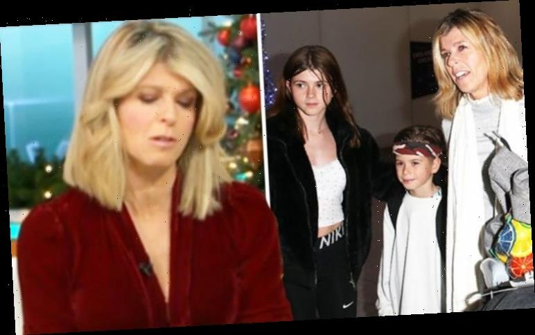 Kate Garraway left 'panicking' and worried for her children amid major home disaster