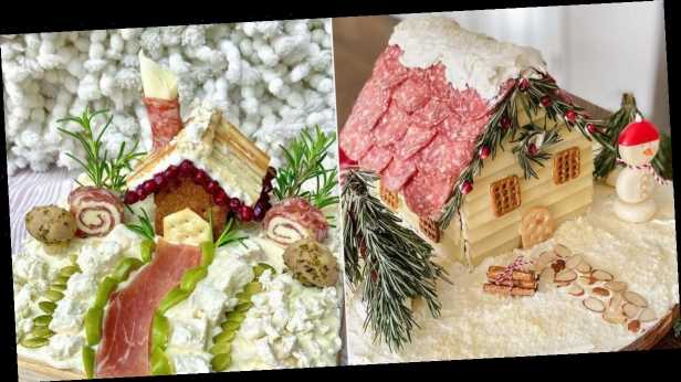 'Charcuterie chalets' beat out gingerbread houses as top winter foodie trend