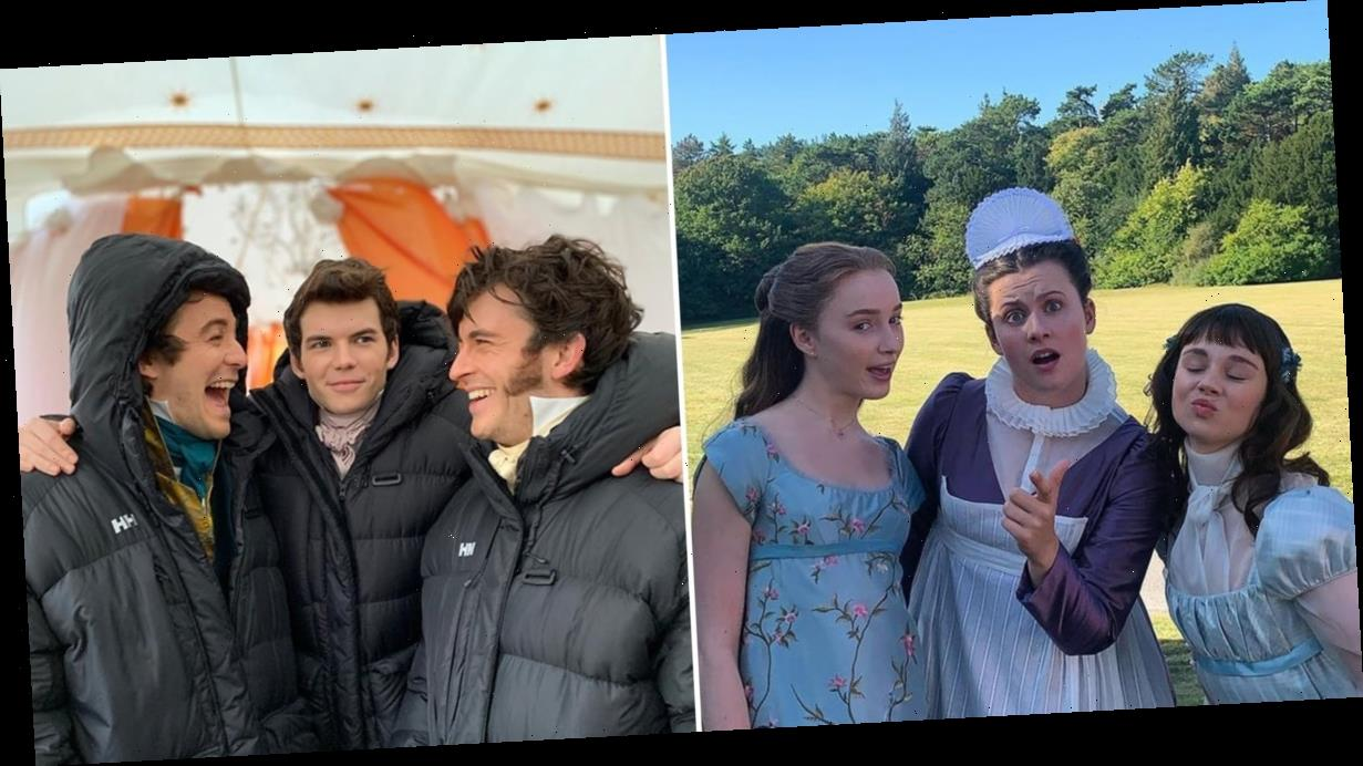 21 Photos of the Bridgerton Cast That Even Lady Whistledown Would Want to Write About