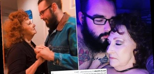 Man, 23,and his 76-year-old wife launch OnlyFans account