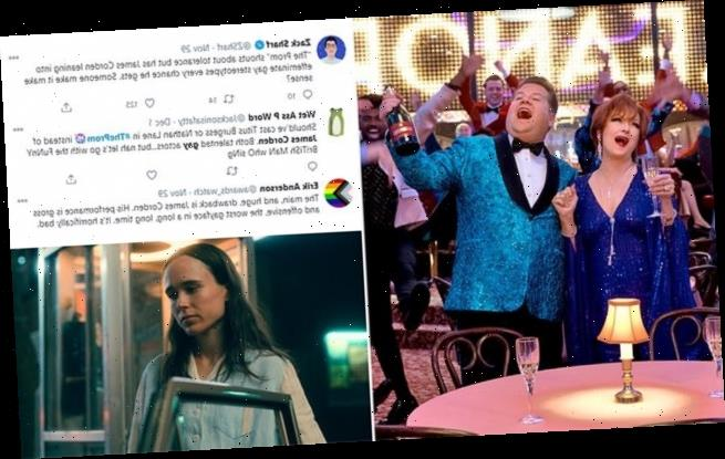 James Corden slammed for 'gross' portrayal of a gay man in The Prom