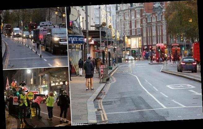 Council insists it will not bring back bollards on hated cycle lane