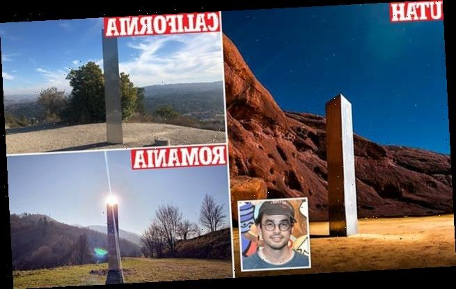 Artist collective claims they are behind the mysterious monoliths