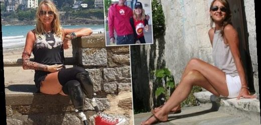 Nurse who lost both legs and an arm to sepsis is found dead aged 53