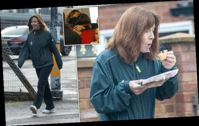 Sky News host Kay Burley seen for first time since rule-breaking party