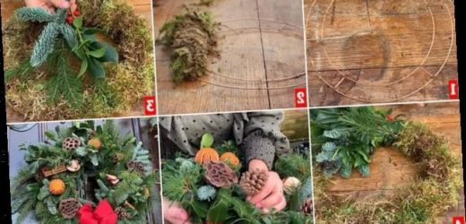 Royal Family florists reveal how YOU can make a wreath