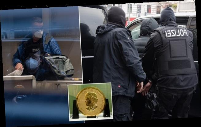 German jewellers linked to hip-hop scene raided after £3.3m coin theft