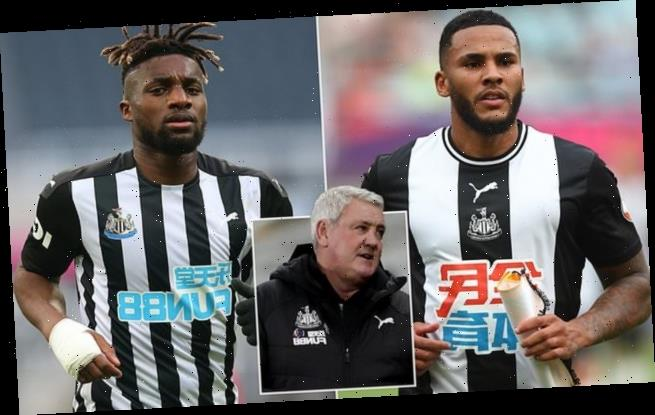 Jamal Lascelles and Allan Saint-Maximin suffering from long Covid