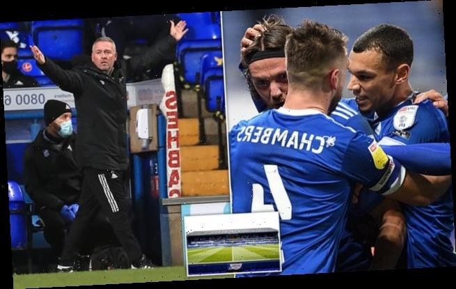 Ipswich Town claim seven staff test positive for new Covid-19 strain