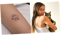 I Xeroxed My Cat's Paw Print and Got It Tattooed on My Body — Here's How That Works
