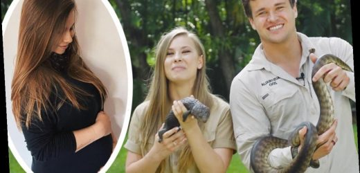 Bindi Irwin Shows Off Her Growing Baby Bump In THE Most On Brand Way
