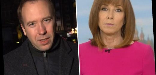 Kay Burley calls out Matt Hancock as he blunders over Tier 2 rules on drinkers eating takeaway meals in 'wet pubs'