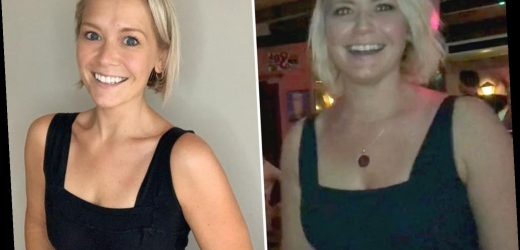 Hear Say's Suzanne Shaw shows off remarkable weight loss after ditching booze and going vegan