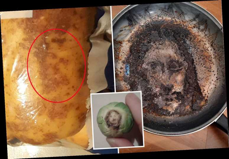 Mad places people spotted 'Jesus' from halloumi wraps to frying pans, as mum stunned to see him in Brussels sprout