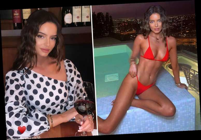 Love Island's Maura Higgins looks incredible as she poses in 'wet bikini bottoms' on holiday in Dubai