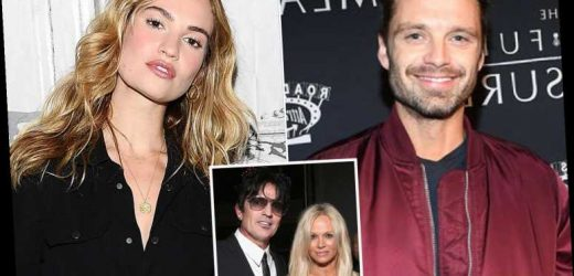 Lily James set to play Pamela Anderson in sex-tape drama with Sebastian Stan as Tommy Lee