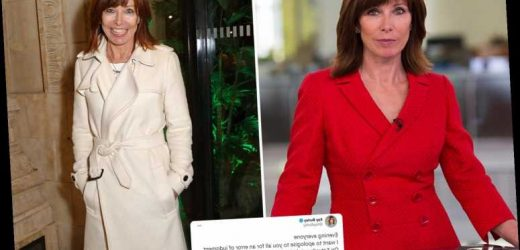 Sky News host Kay Burley pulled off air until New Year after breaching Tier 2 Covid rules for 60th birthday party