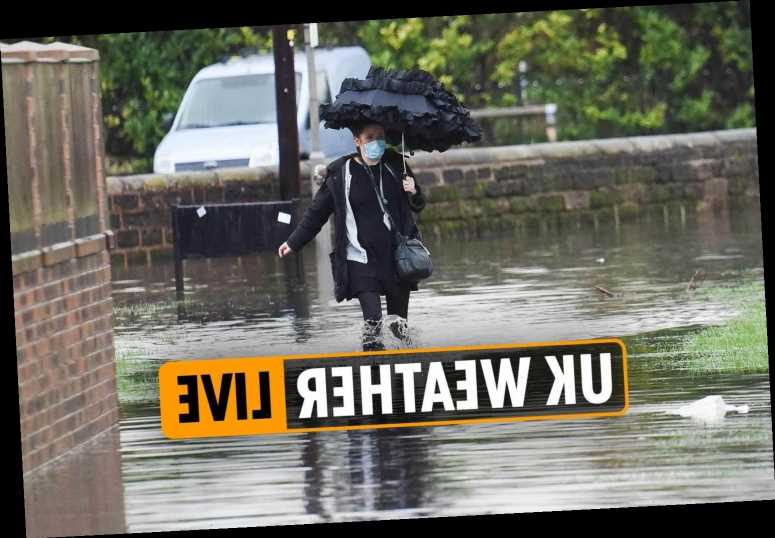 UK weather forecast today – Brits warned of Christmas FLOODING across country as tier 4 London faces non-stop ran