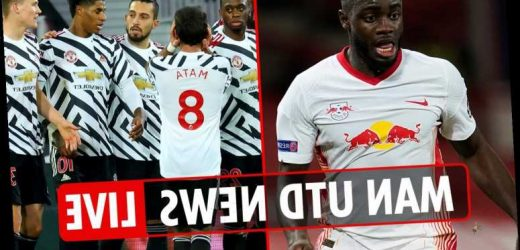 9pm Man Utd transfer news LIVE: Upamecano LATEST, Harvey Barnes EXCLUSIVE and RB Leipzig build-up