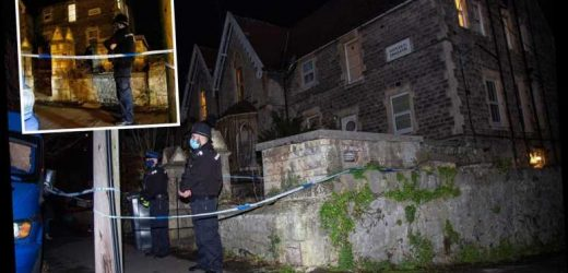 Cops arrest man and woman in murder probe after dead baby found dumped in garden in Weston-super-Mare