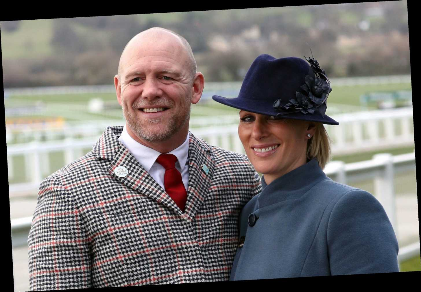 When is Zara Tindall's third baby due?