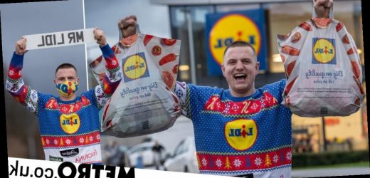 Lidl superfan has a whole wardrobe dedicated to the store