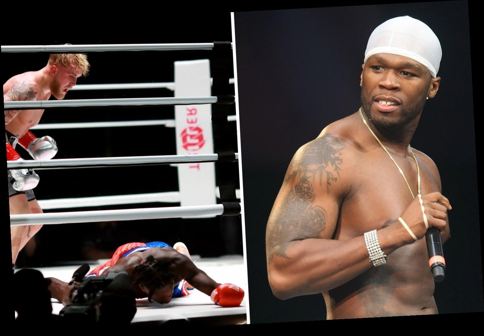 50 Cent trolls Nate Robinson over Jake Paul KO on Mike Tyson undercard but Floyd Mayweather 'proud' of NBA star