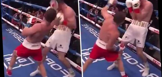 Canelo Alvarez stunned Callum Smith with fake-jab uppercut punch in brutal super-middleweight title win