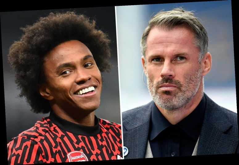 Jamie Carragher blasts Arsenal over three 'joke' transfers but reckons Thomas Partey and Gabriel are club's best players