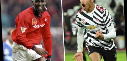 Man Utd star Mason Greenwood can become best striker in world within next five years, predicts legend Andy Cole