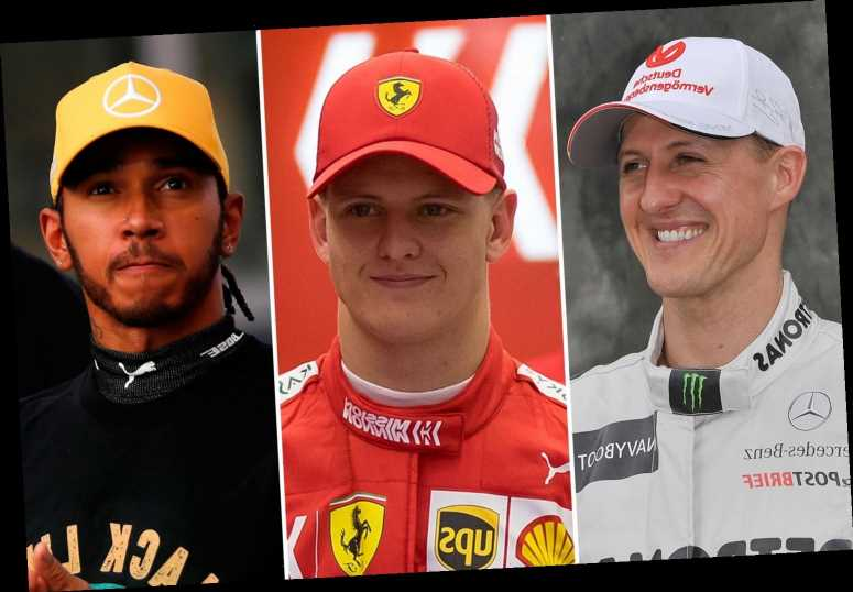 Mick Schumacher claims dad Michael is BETTER than Lewis Hamilton and he's happy to be compared to F1 legend