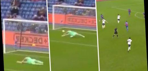 Watch Guaita gift Kane opening goal for Tottenham with amazing howler as Son provides ANOTHER assist at Crystal Palace