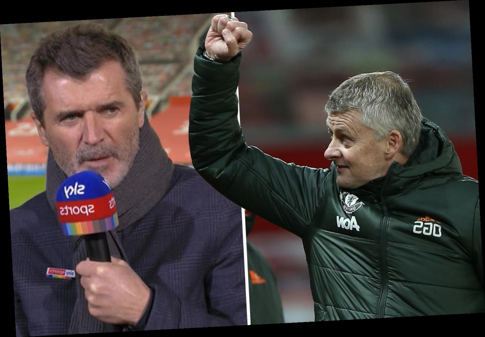 Man Utd are Liverpool's biggest threat for Premier League title ahead of Chelsea and City, claims Roy Keane