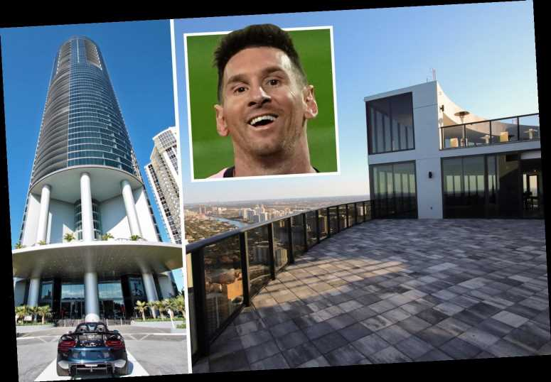Inside Messi's '£7.25m Miami apartment with lift for his car he's bought ahead of transfer to David Beckham's MLS side'